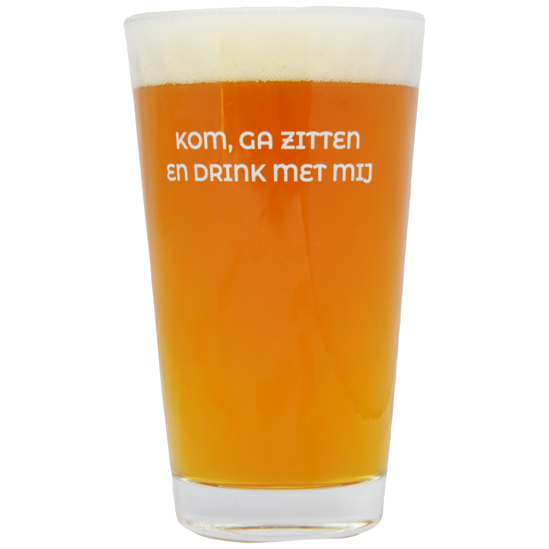 Bierglas Rabauw achterkant